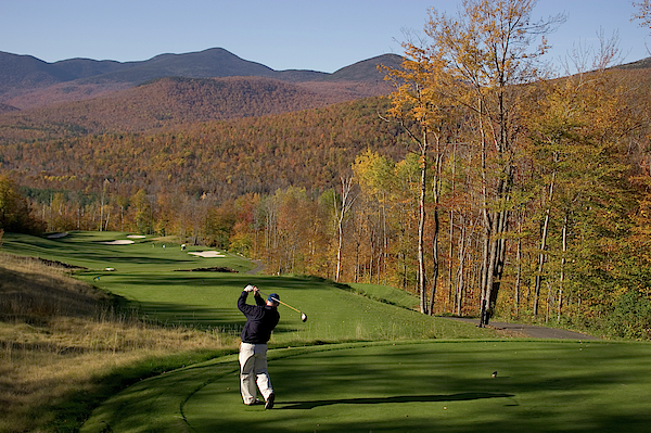 Greens Fee (w/cart) for Golf at Sunday River Golf Club